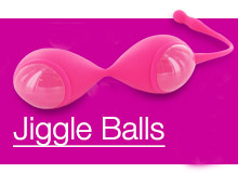 jiggle balls are a ben wa balls type of adult sex toy