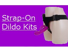Great Long Lasting Sex Toy Fun with Strap On Dildo Kits