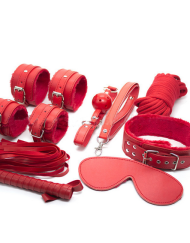 8 Piece Bondage Set