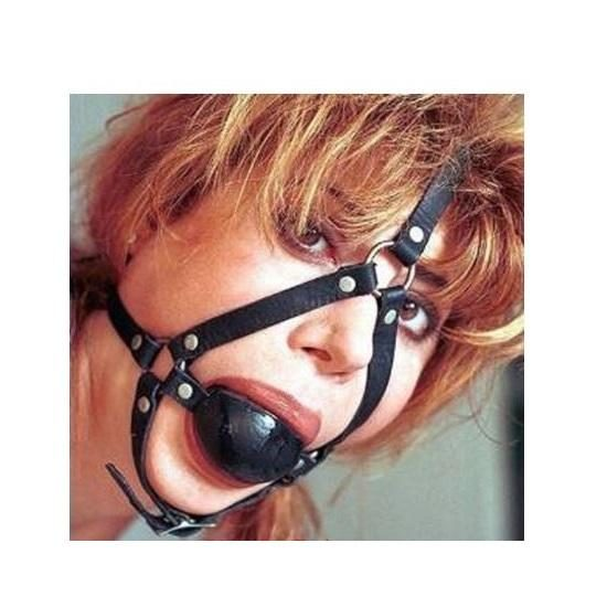Head Harness And Ball Gag