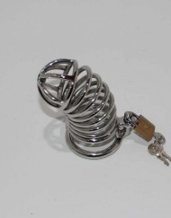 Ridem Tiger Silver Male Chastity Device