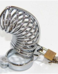 Twisted Male Chastity Device