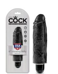 King Cock 6 Inch Vibrating Stiffy