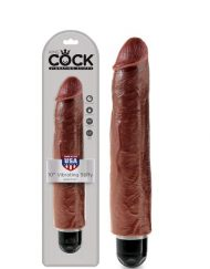 King Cock 10 Inch Vibrating Stiffy