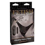 Fetish Fantasy Gold Vibrating Fantasy Panty
