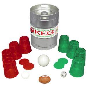 O Christmas Keg Drinking Games