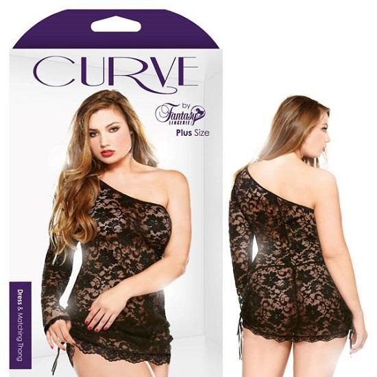 Curve Dress Matching Thong