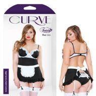Curve Night Service Maid Costume