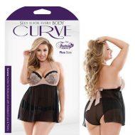 Curve Serena Halter Tie Babydoll Molded Cups Panty