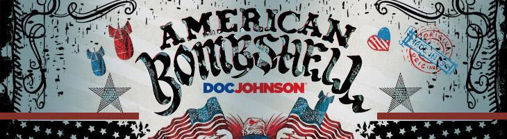American Bombshell Logo by Doc Johnson