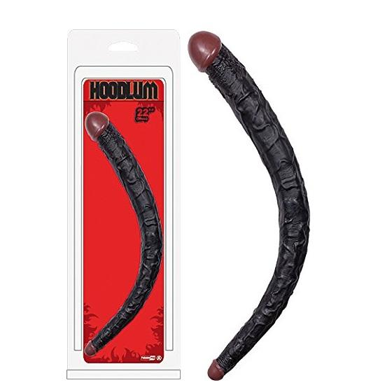 Hoodlum Realistic 22 Inch Double Ended Dildo