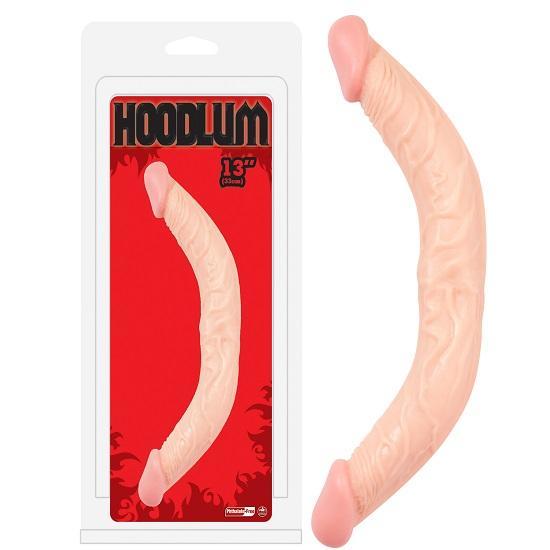 Hoodlum Realistic 13 Inch Double Dildo
