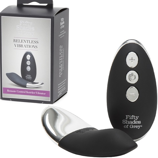 Fifty Shades of Grey Relentless Vibrations Remote Control Knicker Vibrator